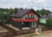 Каркасный Дом под ключ 8.5х9 м проект Эдмонтон