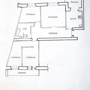 Продам 4х комнатную квартиру в Мозыре
