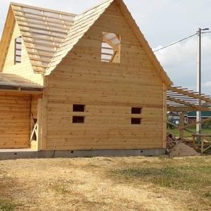 Дом-Баня из бруса готовые срубы с установкой-10 дней Мозырь