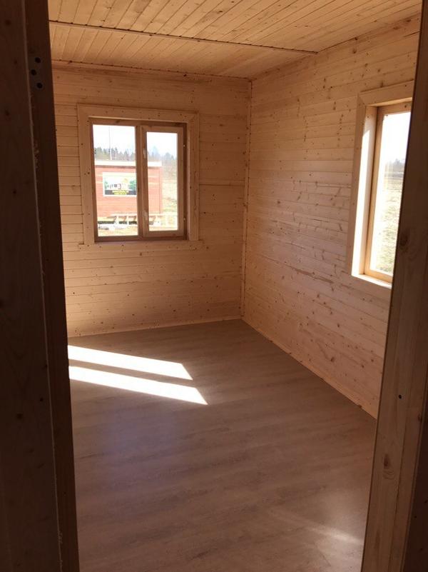 Каркасный Дом под ключ 8.5х9 м проект Эдмонтон 3