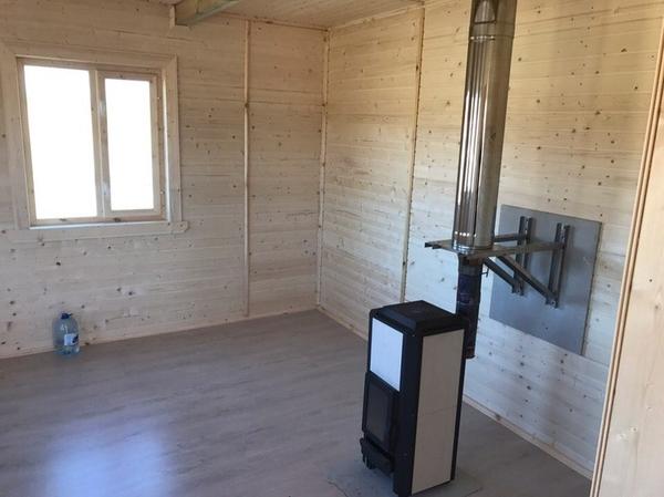 Каркасный Дом под ключ 8.5х9 м проект Эдмонтон 4