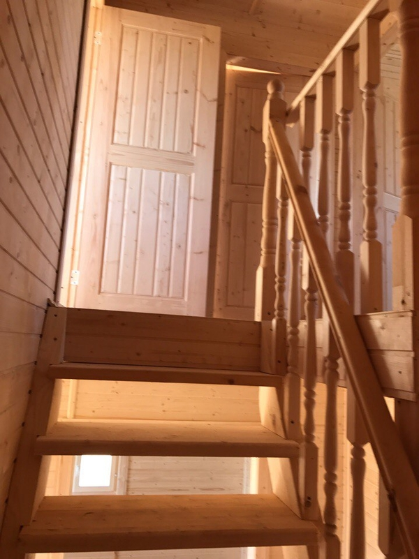 Каркасный Дом под ключ 8.5х9 м проект Эдмонтон 6