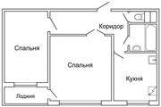 Продам уютную 2-комнатную квартиру в 1-ом микрорайоне